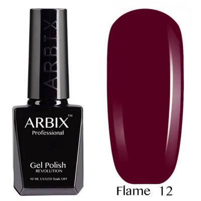 Гель-лак Arbix №12 Тайное Желание Flame, 10 мл