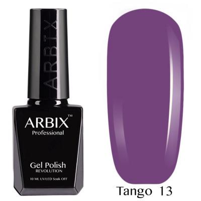 Гель-лак Arbix №13 Черничный Джем Tango, 10 мл