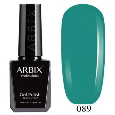 Гель-лак Arbix №089 Ирландский Клевер, 10 мл
