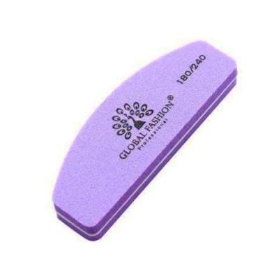 Global Fashion, Баф для полировки натуральных и искусственных ногтей, 180/240