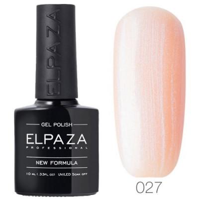 Гель лак Elpaza 027 Розовая жемчужина 10мл