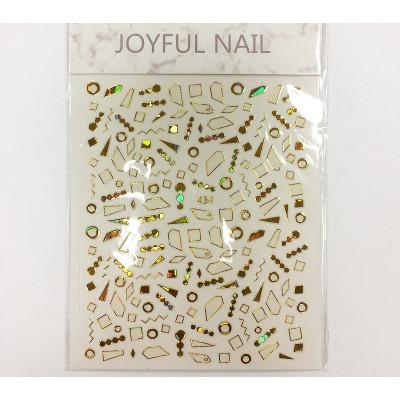 Joyful Nail, Наклейки для дизайна ногтей 03