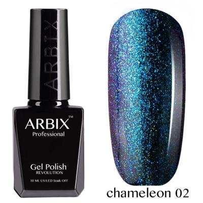 Гель-лак Arbix №002 Chameleon, 10 мл