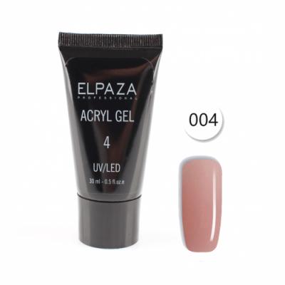 Elpaza, Акрил-гель, Acryl gel 004, 30 мл