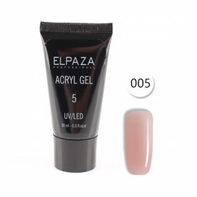 Elpaza, Акрил-гель, Acryl gel 005, 30 мл