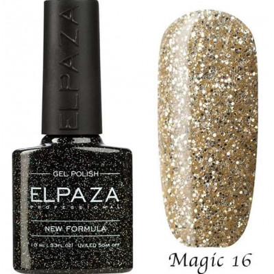 Гель-лак Elpaza Magic №16 Белое золото 10 мл
