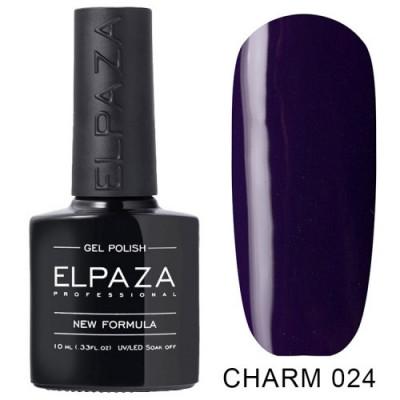 Гель лак Elpaza Charm №024 Синева10мл