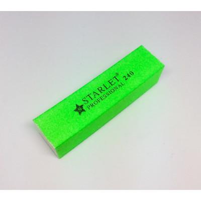 Starlet Professional, Баф для полировки натуральных и искусственных ногтей, 240 грит