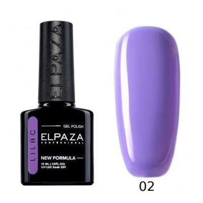 Гель-лак Elpaza Lilac №02 Ласковый прибой, 10 мл.