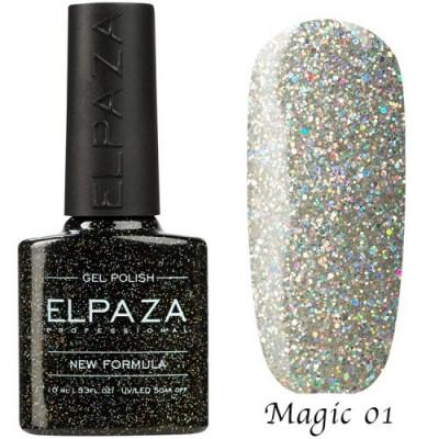 Гель-лак Elpaza Magic №01 Космическая пыль 10 мл