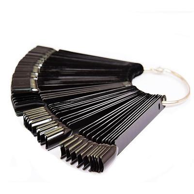 Палитра-веер, черная на 50 цветов