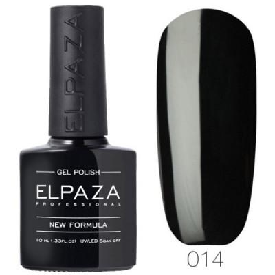 Гель лак Elpaza 014 Истинно чёрный 10мл