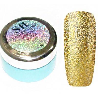 SH, Гель-слюда Diamond, золото №04, 5 мл