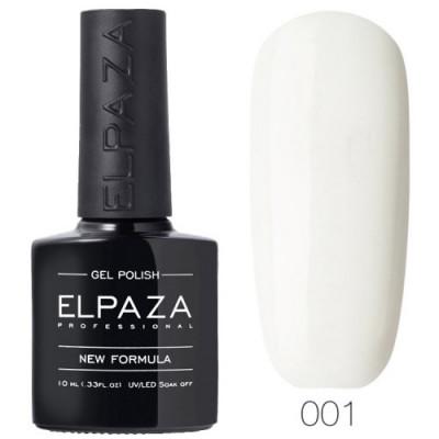 Гель лак Elpaza 001 Aльпийский снег 10мл