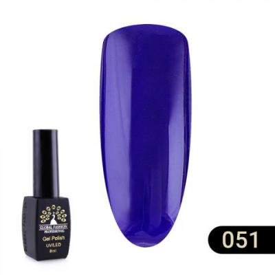 Гель лак Global Fashion BLACK ELITE 8 мл 051