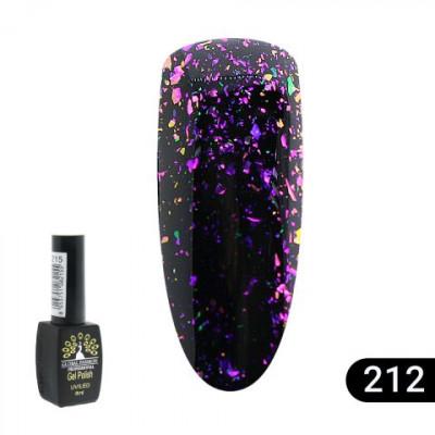 Гель лак Global Fashion BLACK ELITE 8 мл 212