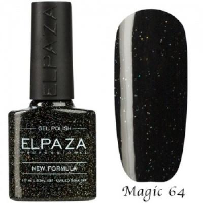 Гель-лак Elpaza Magic №64 Огненный кристалл 10 мл