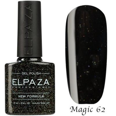 Гель-лак Elpaza Magic №62 Чёрная жемчужина 10 мл