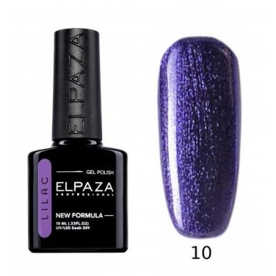 Гель-лак Elpaza Lilac №10 Турмалин, 10 мл.