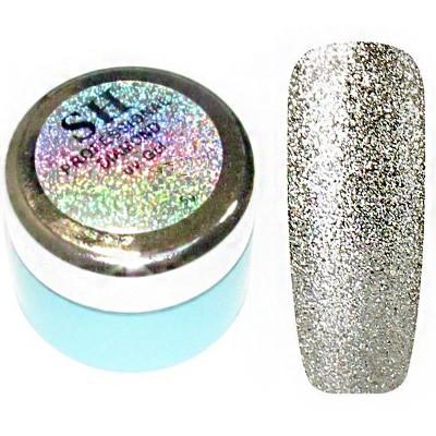 SH, Гель-слюда Diamond, серебро №03, 5 мл