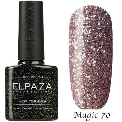 Гель-лак Elpaza Magic №70 Розовый хрусталь 10 мл