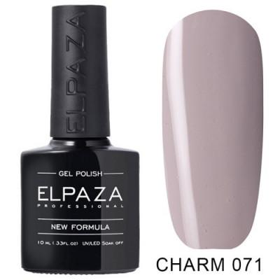 Гель лак Elpaza Charm №071 Скромное платье10мл