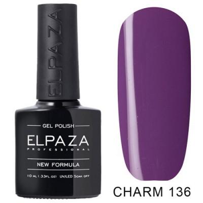 Гель-лак Elpaza Charm №136 Виолетта 10 мл