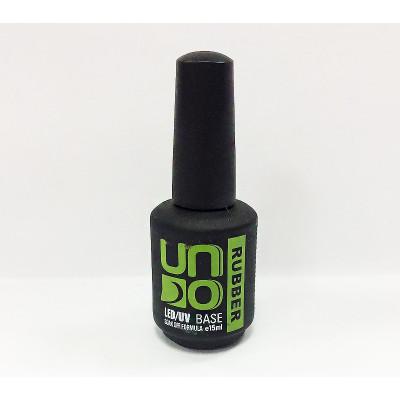 Uno, Каучуковое базовое покрытие для гель-лака,15 мл