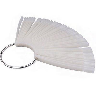 Палитра-веер, белая на 50 цветов