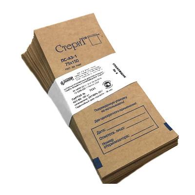 СтериТ®, Пакеты для стерилизации инструмента 75х100, 100 шт
