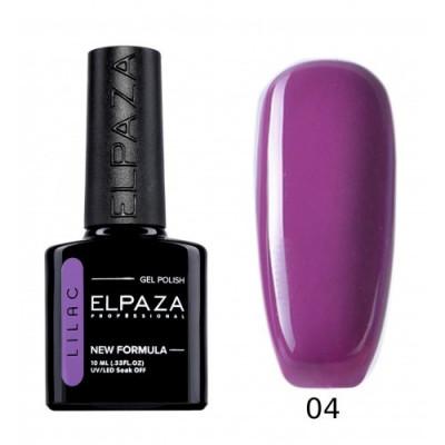 Гель-лак Elpaza Lilac №04 Болеро, 10 мл.
