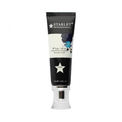 Starlet Professional, Полигель (акрил-гель)  №01 прозрачный, 30 мл