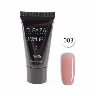 Elpaza, Акрил-гель, Acryl gel 003, 30 мл