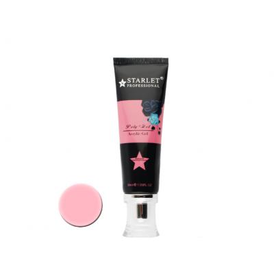 Starlet Professional, Полигель (акрил-гель) №03 светло-розовый, 30 мл