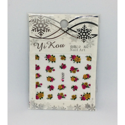 Yi Kou, Наклейки для дизайна ногтей, E127