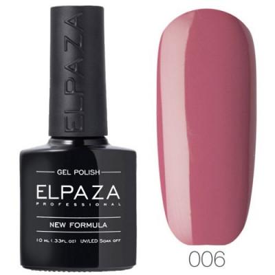 Гель лак Elpaza 006 Розовый сон 10мл.