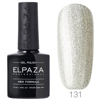 Гель лак Elpaza 131 Песок из серебра 10мл