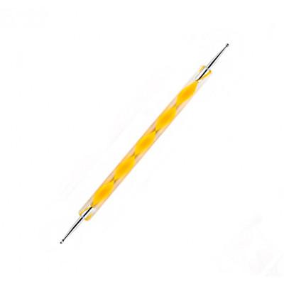 Дотс двусторонний, желтый