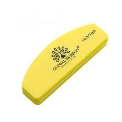 Global Fashion, Баф для полировки натуральных и искусственных ногтей, 100/180