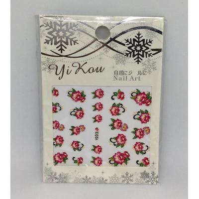 Yi Kou, Наклейки для дизайна ногтей, E051