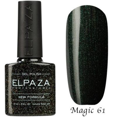 Гель-лак Elpaza Magic №61 Изумрудный лес 10 мл