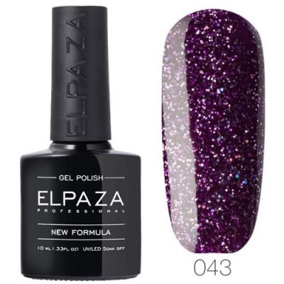 Гель лак Elpaza 043 Пурпурный дождь 10мл