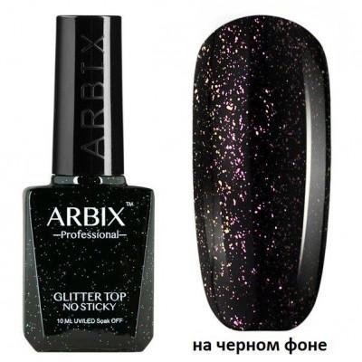 Arbix, Топ без липкого слоя с розовым шиммером, 10 мл